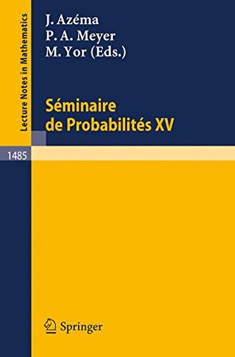 Seminaire de Probabilites XXV (Lecture Notes in Mathematics) (French and English Edition)