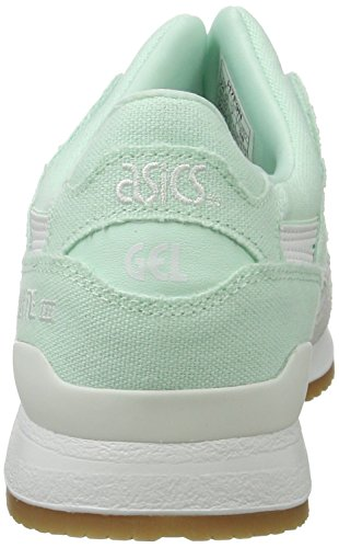 Asics Damen H6w7n Sneaker Türkis (Bay/white)