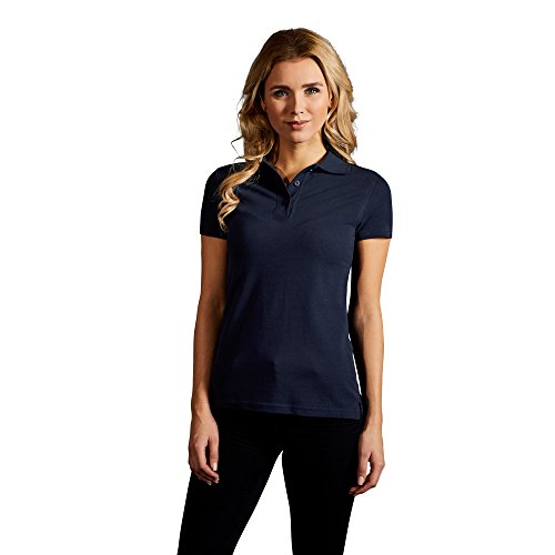 Premium Poloshirt Damen, XS, Marineblau (Premium Womens Polo Pique)