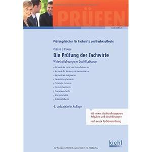 Jetzt herunterladen pdf Die Prüfung der Fachwirte: Wirtschaftsbezogene Qualifikationen