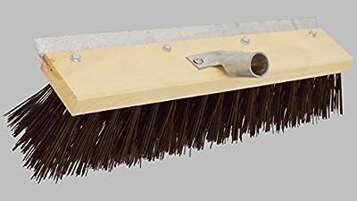 Schnee- / Straßenbesen 40 cm, mit Metall-Stielfassung (22-24 mm) und Schaber