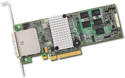 Avago 8-Port EXT, 6Gb/s SATA+SAS PCIe 2.0, 512MB, SGL, 9750-8E_SGL (PCIe 2.0, 512MB, SGL) -