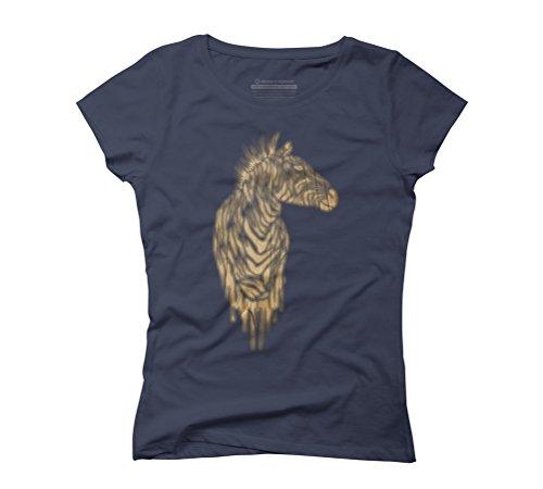 de zebras Women's Graphic T-Shirt - Design By Humans Navy