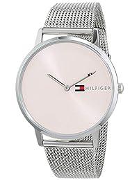 Tommy Hilfiger Reloj Analógico para Mujer de Cuarzo con Correa en Acero Inoxidable 1781970