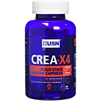 USN Creatine X4 Lean Muscle and Strength Capsules - Tub of 120