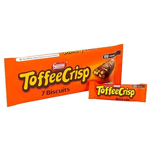 Toffee Crisp Biscuits 7 x 19g, 6 Pack -