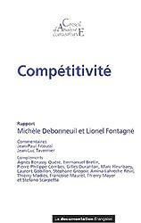 Compétitivité (Rapport du CAE n.40)