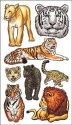 Achat en vrac :  Sticko 58 Stickers Gros Chats (Lot de 6)