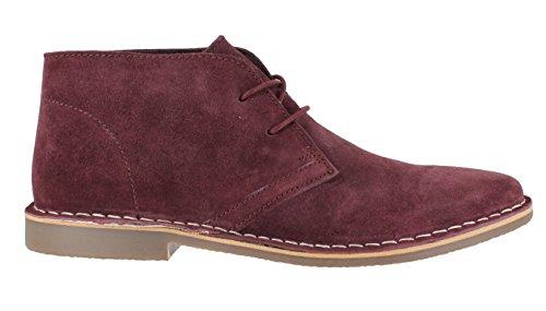 Red Tape Gobi pour homme daim pour chaussures à lacets classique Violet - violet