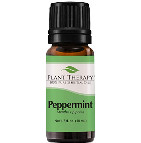Organic Peppermint Essential Oil. 10 ml. 100% Pure, Undiluted, Therapeutic Grade. by Plant Therapy Essential Oils