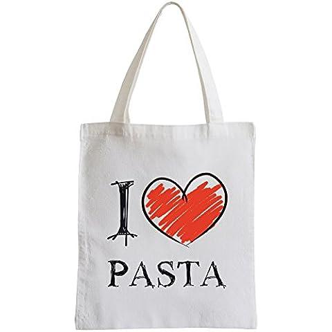 Amo Pasta Fun sacchetto di iuta
