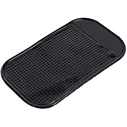 Ahomi Car Magic Anti Slip Mat Dashboard Sticky Pad Phone Holder (Small Black)