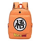 Zaino Unisex Dragon Ball Casual Backpack Cartoon Zaino Anime School Bag per Adolescenti Zaini Sportivi e Outdoor Zaino di tela per ragazzo e ragazza Zaino fulmine