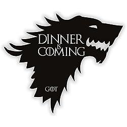 Instant Pot Aufkleber–Dinner is Coming | Game of Thrones–Küche Aufkleber–Herd Aufkleber
