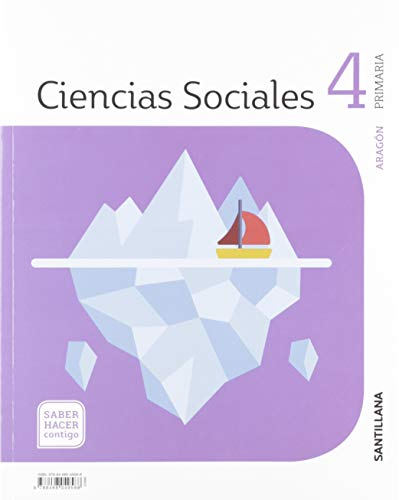 CIENCIAS SOCIALES ARAGÓN 4 PRIMARIA SABER HACER CONTIGO SANTILLANA