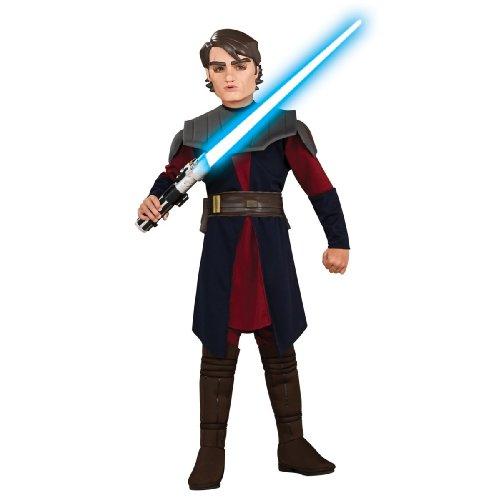 Star Wars Anakin Deluxe Kind Kostüm - Deluxe Anakin Skywalker Kinder Kostüm Star Wars Kinderkostüm Größe M 5-7 Jahre