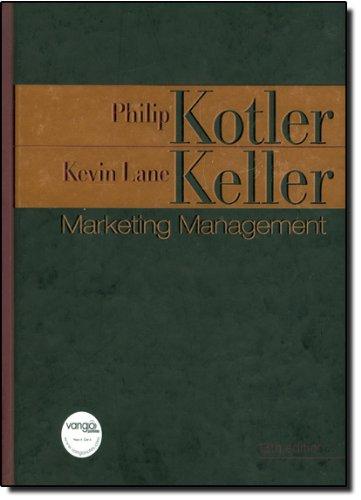 Marketing Management: United States Edition