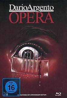 Dario Argentos Opera - 4-Disc Restored 30th Anniversery Edition limitiert auf 150 Stück - Mediabook, Cover B (+ 2 DVDs) [Blu-r
