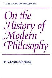 History Modern Phil (Texts in German Philosophy)