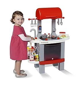 Chicos - Cocina BBQ 2 en 1, Color Rojo (Fábrica de Juguetes 85003)