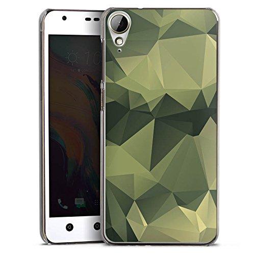 HTC Desire 10 Lifestyle Hülle Case Handyhülle Camouflage Muster Tarnfarben