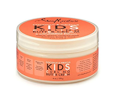 Shea Moisture Coconut & Hibiscus Kids Curling Butter Cream 170g