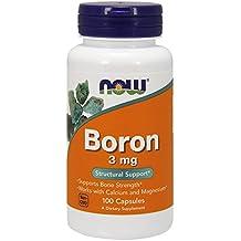 NOW Foods - Boron 3 mg. - 100 Capsules