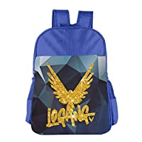 Golden Parrot Childrens School Backpack Carry Bag for Girls Boys