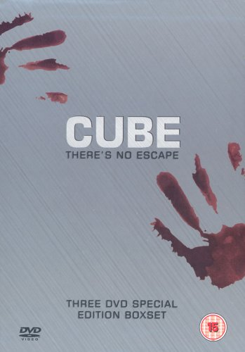 Cube Trilogy - Cube / Cube 2 / Cube Zero [DVD]