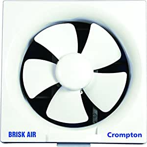 Crompton Brisk Air 200 mm Exhaust Fan (White)