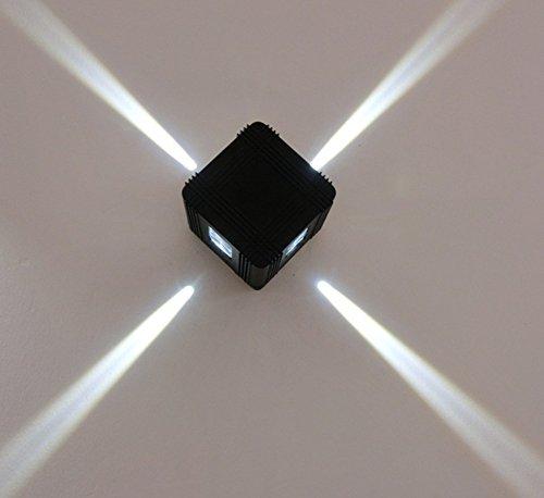 Nouveau LED croix Starlight extérieure imperméable à l'eau de mur lampe Spotlight mur extérieur lampe décorative , 1