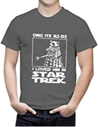 OMG It's R2D2 I Loved Him In Star Trek Tshirt - Loose Fit. Various Colours and Sizes