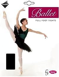 20dc8ba35969a Girls 1 Pair Silky Ballet Foot Tights