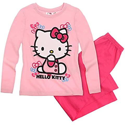 Hello Kitty Chicas Pijama - fucsia