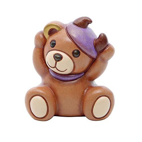 Thun® - teddy taurus segni zodiacali - animali soprammobili da collezione - ceramica - i classici