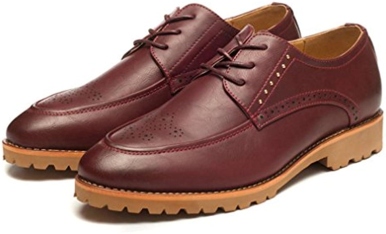 Xianshu Schnüren Brogue Spitze Geschaumlft Schuhe