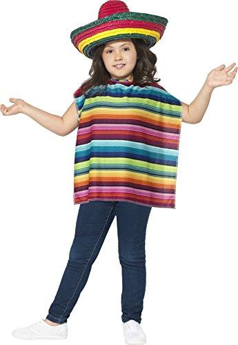 Smiffys 44095 - Mexikanische Instant-Kit mit Poncho und Sombrero Preisvergleich