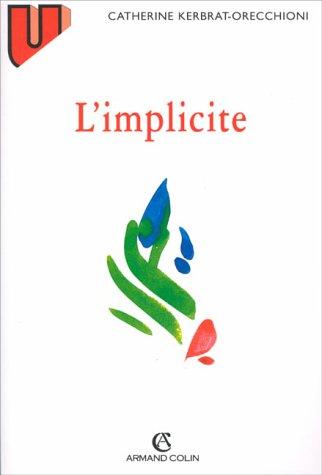 L'implicite