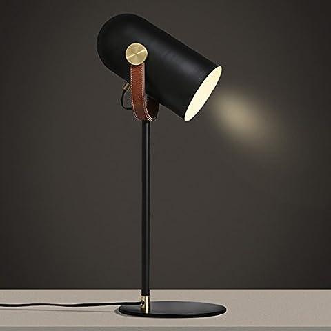 Lampe de table salon salle à manger cuisine table de bureau lit de lit travail d'apprentissage lampe de table décorative simple
