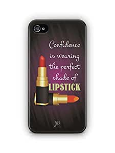 YuBingo Perfect Shade of Lipstick Mobile Case Back Cover for Apple iPhone 4S
