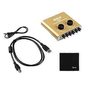 NKR :  carte son externe avec connecteur uSB, compatible avec windows xP, vista, windows 7 8, systèmes, etc.-masturbateur tera chiffon de nettoyage