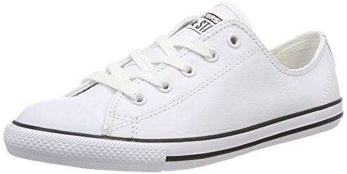 Converse Damen Ct Dainty Ox Blk Fitnessschuhe - Weiß (Blanc) , 38 EU -