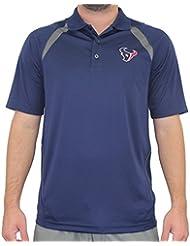 "Houston Texans Majestic NFL ""Winners"" Men's Short Sleeve Polo Shirt Chemise"