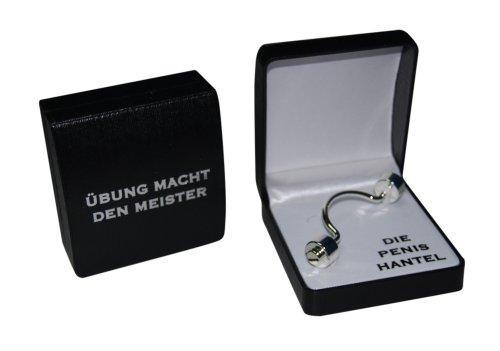 Geschenkidee für Männer - Die Metall Penis Hantel