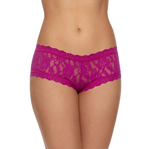 Hanky Panky Signature Lace Boyshort #4812P,XS,Belle Pink -