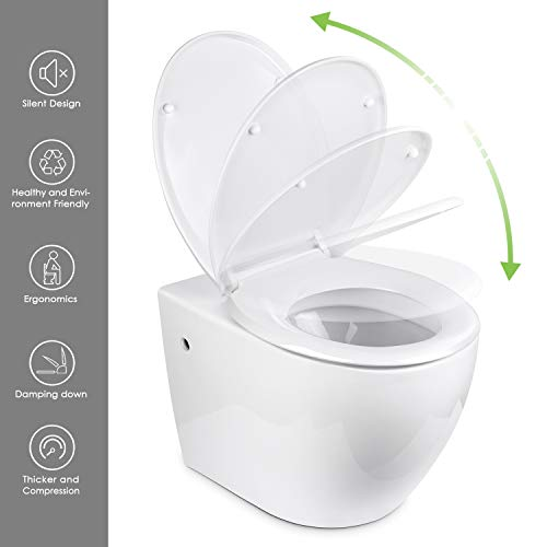 Zoom IMG-3 amzdeal copriwater sedile wc con