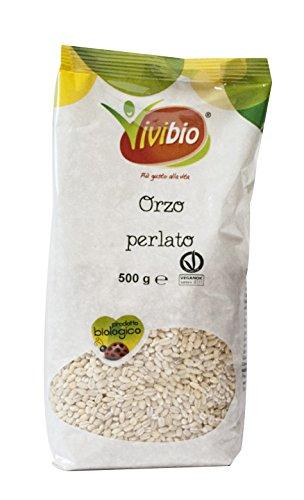Vivibio Orzo Perlato Italiano - 3 pezzi da 500 g [1500 g]