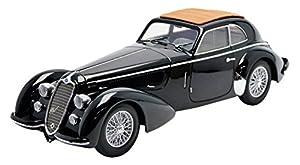 Minichamps - 100120421 - Alfa-Romeo 8C 2900B Lungo - 1938 - Escala 1/18 - Negro