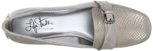 Life Stride ELLISON B5341S3902, Ballerine donna Argento (Silber (Silver Grey))