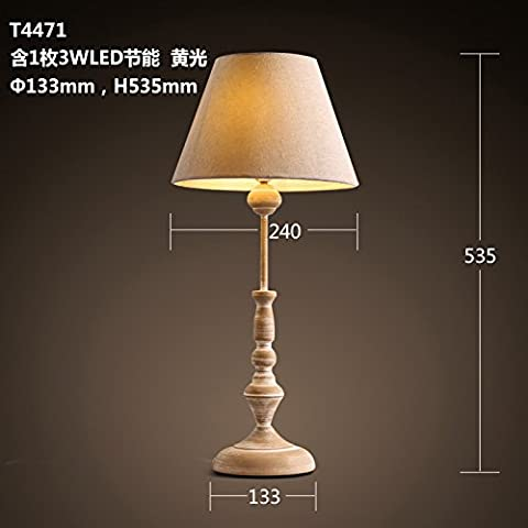 Das Wohnzimmer ist tischlampen idyllische Schlafzimmer Bett Lampen 133 * 535 mm Lampen dekoriert